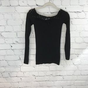 Intimately Free People Long Sleeve Stretch Top